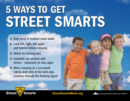 5 Ways to Get Street Smarts poster